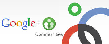 Google Plus Groups and communities