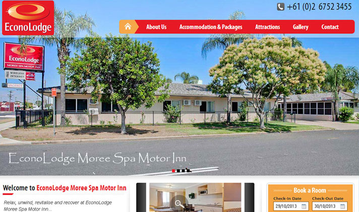 EconoLodge Moree Spa Motor Inn